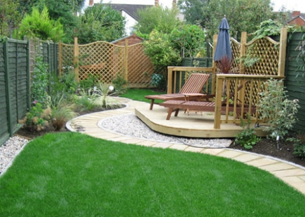 Small garden hard landscaping pdf for Hard landscaping